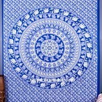 Indian Mandala Throw Tapestry, Hippie Bohemian Wall Decor Tapestries, Tapestry Wall Hanging, Boho Beach Tapestry, Gypsy Dorm Wall Tapestries