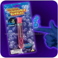 UV Blacklight Bubbles You Can Catch