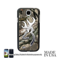 Browning Cutter Camo Galaxy S3 S4 S5 NOTE 2 3 Case Cover Skin Hard Shell Back Not actual Chrome