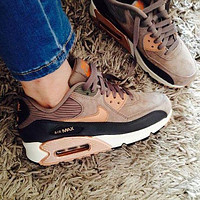NIKE AIR MAX 90 Sports shoes cushioned running shoes