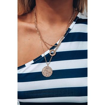 Property Of Necklace: Gold