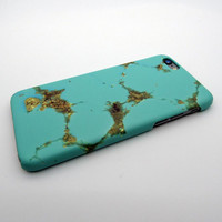 Green marble phone case for iphone 5 5s SE 6 6s 6 plus 6s plus + Nice gift box 072601
