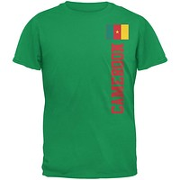 World Cup Cameroon Green Adult T-Shirt