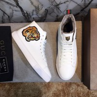 cc spbest Gucci Hightop WINTER Tiger With FUR