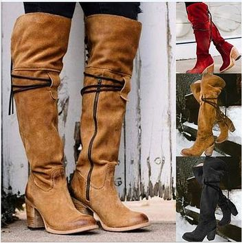 High Heel Women's Knight Boots