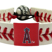 Los Angeles Angels of Anaheim Baseball Bracelet - Classic Style