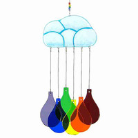 Cloud and Rainbow Wind Chime, Rainbow Windchime