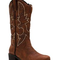 Get Stitches Studded Cowgirl Boots GoJane.com