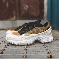 Best Online Sale Raf Simons x Adidas Consortium Ozweego 2 III Retro Sport Smart Running Shoes Trainers Shoes White Khaki BB6743