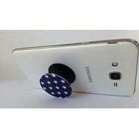 2X1 Pop Out Phone Grip and Stand, Mobile Holder for your Phone & Tablet  (Stars)