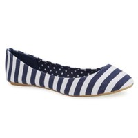 Charles Albert® Striped Flat