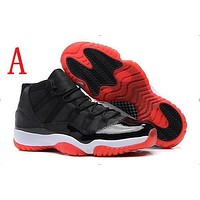 Air Jordan Retro 11 Space Jam Bred Gamma Blue Basketball Shoes Men Women 11s Concords 72-10 Legend Blue Cool Grey Sneakers With Box