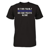 Thin Blue Line No One Fights Alone