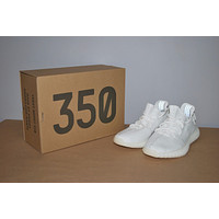 Adidas YEEZY Boost 350 V2 Cream Triple White CP9366 DS - Men's Size 11.5