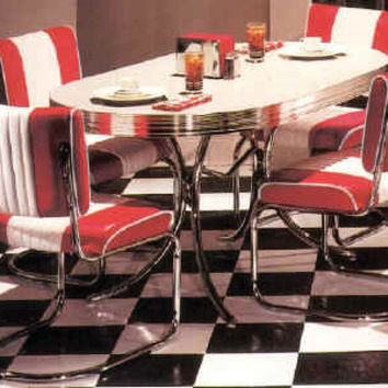 Chevy Dinette Set 50's Retro