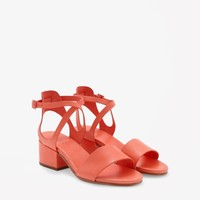 COS | Cross-over strap sandals