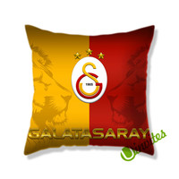 Galatasaray Logo Square Pillow Cover