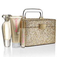 NEW! Heavenly Glitter Train Case