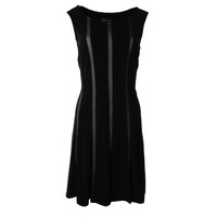 Connected Apparel Womens Sleeveless A-Line Casual Dress