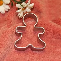 Christmas Cookie Cutter Tools Aluminium Alloy Snowman Men Shaped Ustensiles Patisserie Mold Kitchen Decorating Tools