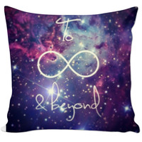 To Infinity Pillow
