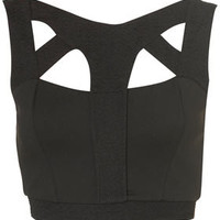 Strappy Textured Corset Top - New In This Week  - New In