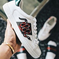 Gucci:Trending Fashion Casual Sports Shoes Snake I