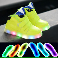New LED  Baby Tennis Shoes