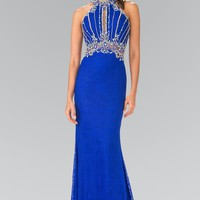 Sparkly lace prom dress gl2275