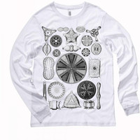 Algae Diatom - Long Sleeve Tshirt