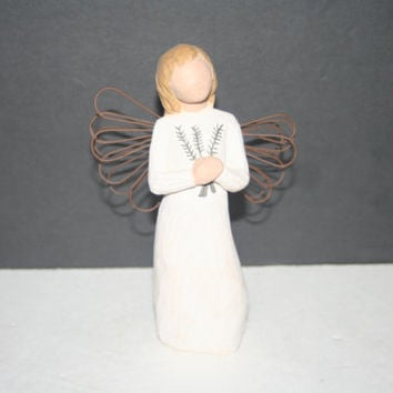 Willow Tree Angel of Remembrance,Collectible Home Decor,Castawayacres