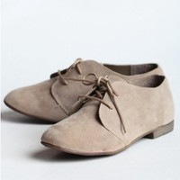 Out And About Lace Up Oxfords