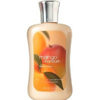 Bath and Body Works Signature Collection Mango Mandarin Body Lotion, 8 oz, new bottle style