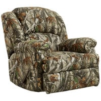 Exceptional Designs Next Camouflage Fabric Rocker Recliner