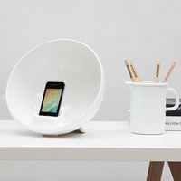 MONOQI | Ceramic Amplifier - White