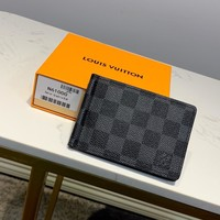 Kuyou Gb1986 Louis Vuitton Lv M66543 Taiga Leather Small Leather Goods All Collections Damier Graphite Wallet 11.3cmx8.2cmx1.0cm