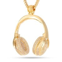 The Headphones Necklace - Designed by Snoop Dogg x King Ice