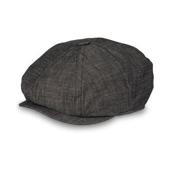 Sean John Mens Chambray Newsboy Hat
