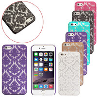 6 Candy Colors, Hot Sale Fashion Carved Damask Vintage Pattern Case Matte Hard Case Cover For IPhone 5 5S