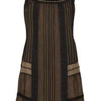 Philosophy di Alberta Ferretti Lace and silk-chiffon dress - 65% Off Now at THE OUTNET