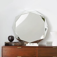 Faceted Mirror - Large