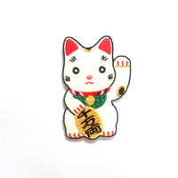 Lucky Cat Iron on Patch / Embroidered patch