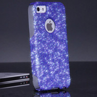 Otterbox iPhone 5 5S Case - Custom Fairy Dust Glitter iPhone 5 5S Otterbox Case - Sparkles Bling Otterbox Cover