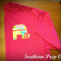 Ladies Republican Appliqued Tee
