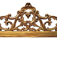 French-Style Headboard, King