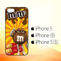 Chocolate Candy M&m Y2361  iPhone 5|5S|SE Case