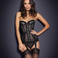 View All Lingerie by Agent Provocateur - Mercy Corset