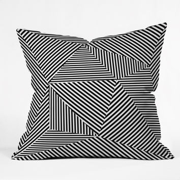 Three Of The Possessed Dazzle Apartment Outdoor Throw Pillow