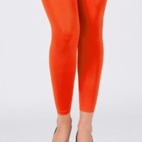 Amazon.com: Hot and Sexy Orange Footless Tights: Clothing