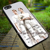 Peeta Mellark and Katniss Everdeen with Quote iPhone 6s 6 6s+ 5c 5s Cases Samsung Galaxy s5 s6 Edge+ NOTE 5 4 3 #quote dt